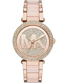 6a2b72f19ce8 Amazon.com  Michael Kors Women s Parker Rose Gold-Tone Watch MK5865 ...