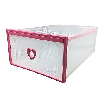 Caja Organizador Apilable El De Zapatos Smilun Para Cajón Armario w4fzawqn