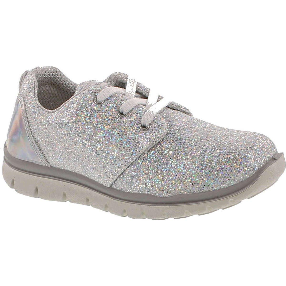 Primigi Girls 7585 Fashion Glitter Metallic Sneakers