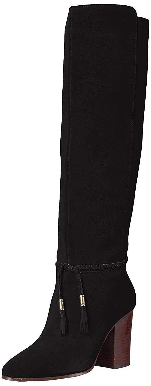 Aerosoles Women's Square Foot Knee High Boot B074H19YCV 8 B(M) US|Black Suede