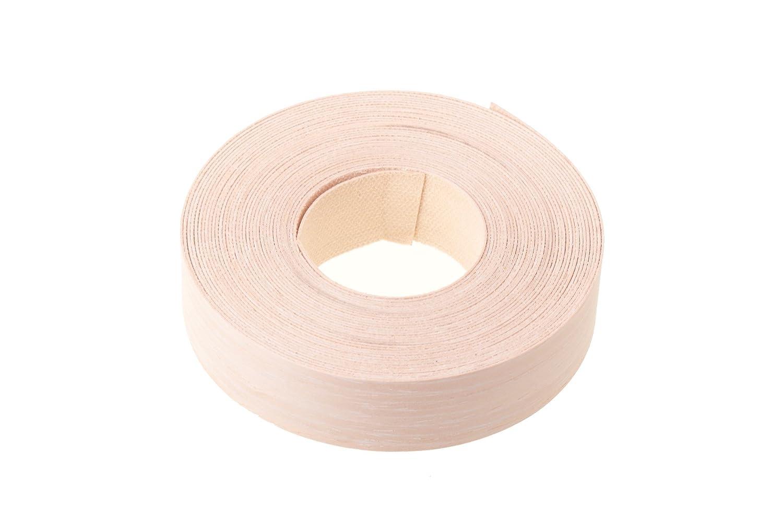 Blanchit Chêne Chêne chaulé Quarter (22mm Largeur x longueur de 7.5m) conçu pour bordure de Placage/placage Edge Bande Tape–Qualité supérieure pré-collées DIY thermocollant