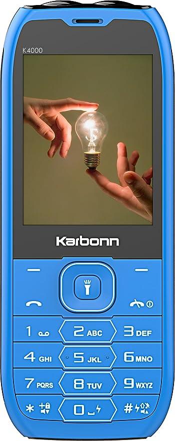Karbonn BAAHUBALI Phone+Power Bank K4000 Blue+Black Power Banks