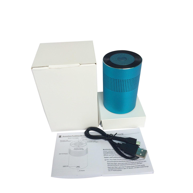 Was Ist Eine Tf Karte.Portable Wireless Bluetooth Speakers Dornlat Aluminum Docking