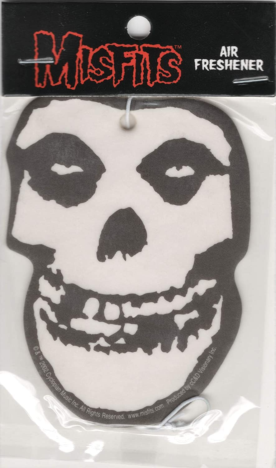 Amazoncom Misfits Crimson Ghost Skull Logo Air Freshener Clothing