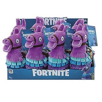 Toy Partner- Fortnite Peluche Llama, Color Rosa,Lila,Azul (FNT0037)