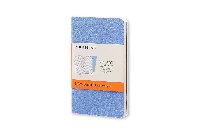 XS 6.5 x 10.5 color azul Cuaderno de rayas Moleskine QP701B12B11