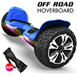 Gyroshoes Hoverboard - Warrior 8.5 inch Off Road All Terrain Hoverboard with Bluetooth Speaker and Led Lights,Self…