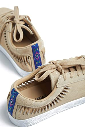 135aa501df958 Amazon.com: Banana Moon RONKY SNEAKERS, Shoes, Beige, Size: 8.5 ...