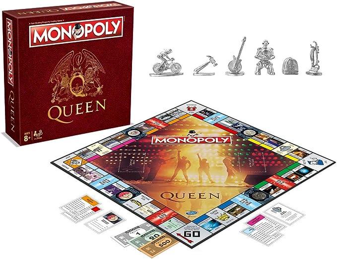 Monopoly - Oficial Queen - Merchandising música: Amazon.es ...