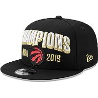 Men's Toronto Raptors New Era Black 2019 NBA Finals Champions Locker Room 9FIFTY Snapback Adjustable Hat