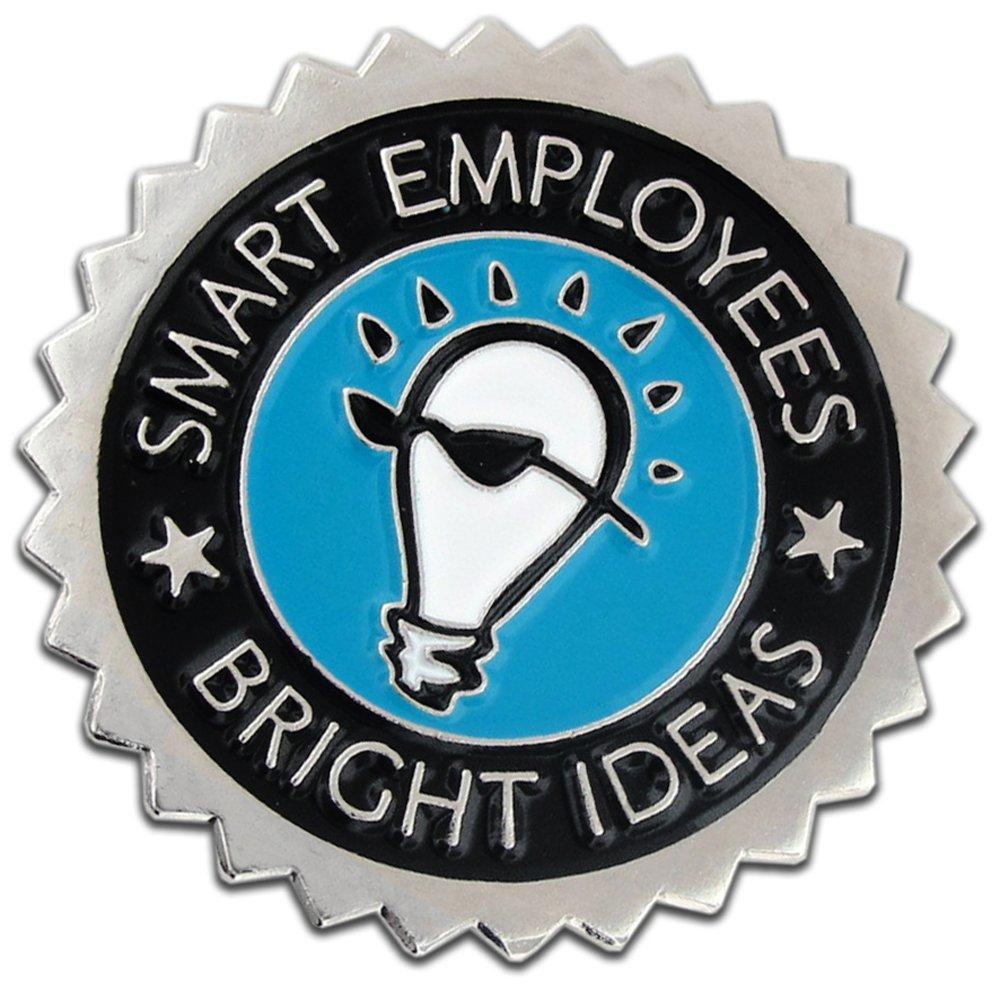 PinMart's Smart Employees Bright Ideas Corporate Lapel Pin