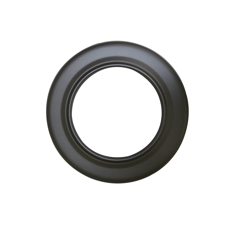 Kamino - Flam - Rosetón para tubo de chimenea (Ø 150 mm), Rosetón anillo para tubos de estufa, Rosetón conector para sistema de chimeneas, estufas, ...
