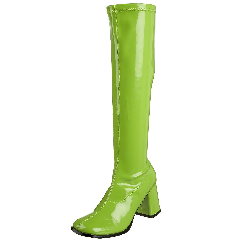 Pleaser Gogo300/yl, Damen Stiefel  45 EU|Green (Lime)