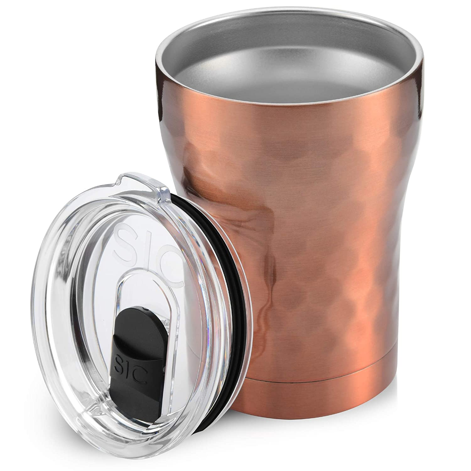 Free And Coated Travel Insulated Powder OzDouble Vacuum 188 Steel Copper Tumblers Proof Lid Splash Wall Hammered Stainless 12 Mug With Bpa k0wZ8NnOPX