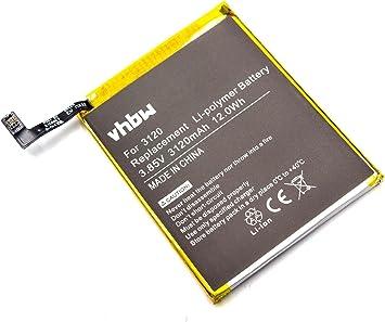 vhbw Litio polímero batería 3120mAh (3.85V) para móvil ...