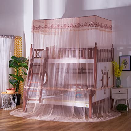 Attrayant SIOFSVDFDFASDD Square Netting Curtains,Drawstring Netting Curtains,Bunk  Bunk Bed Netting Bedding Stair Bed