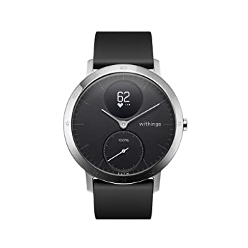 Withings Steel HR Hybrid Smartwatch - Reloj de fitness con ...