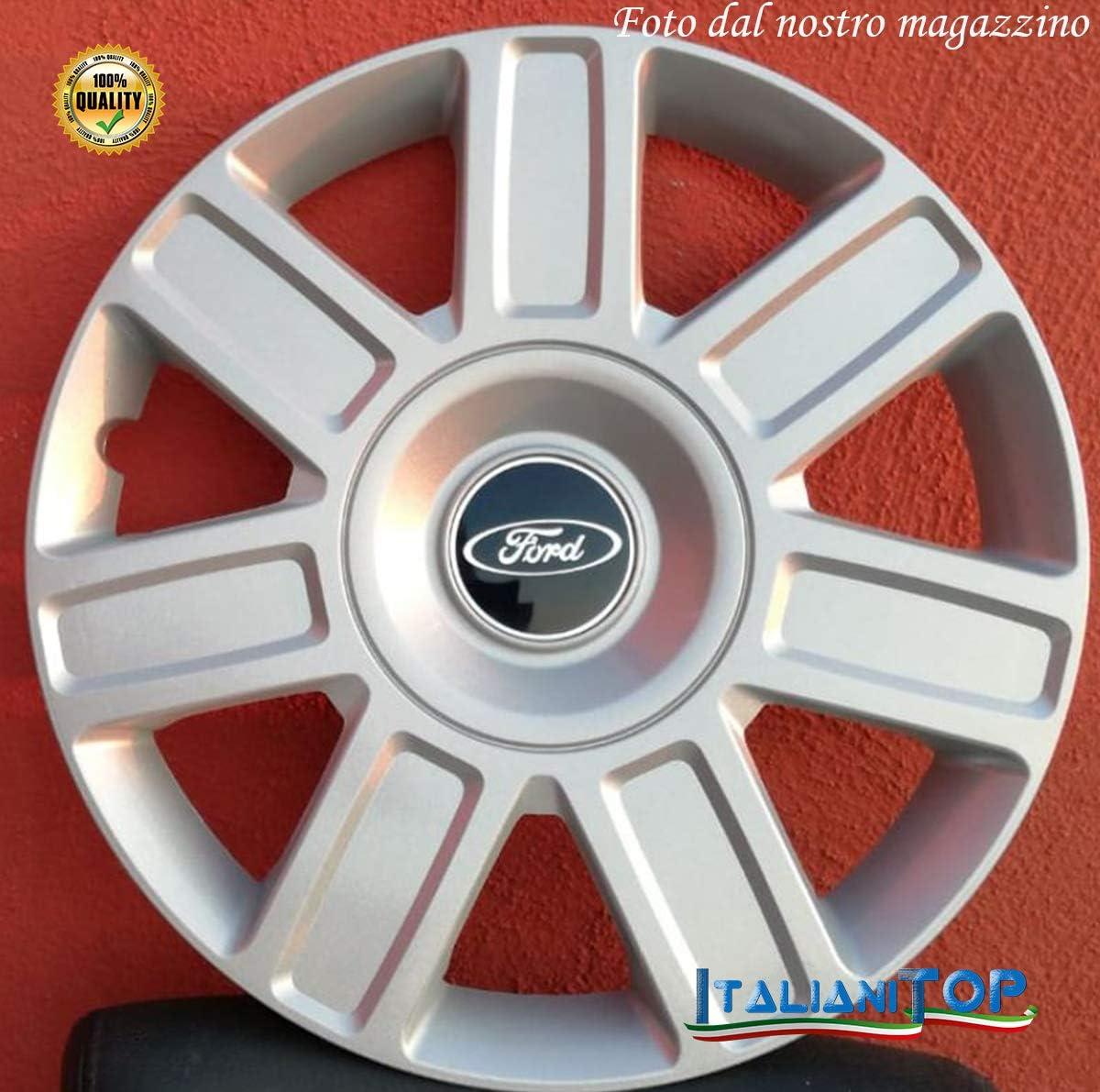 Coppa Ruota Diametro 16 CODICE 5813//6 Generico Ford Focus COPRICERCHIO BORCHIA Uno 1
