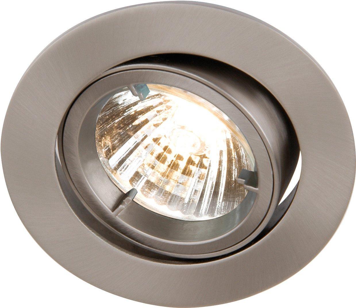 IP65 Recessed Bathroom Shower Downlight GU10//MR16 Light Fitting in Chrome-RDSHC