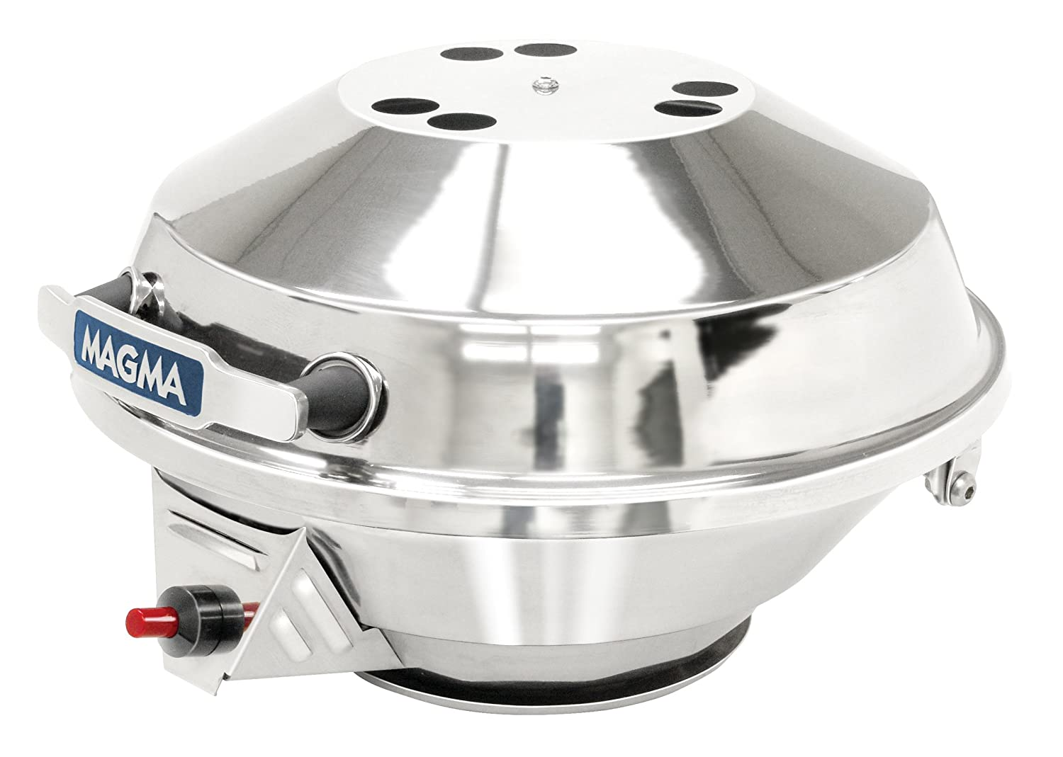 Amazon.com : Osculati MAGMA Polished Stainless Steel Gas Barbecue with Piezo Ignition Stove : Sports & Outdoors