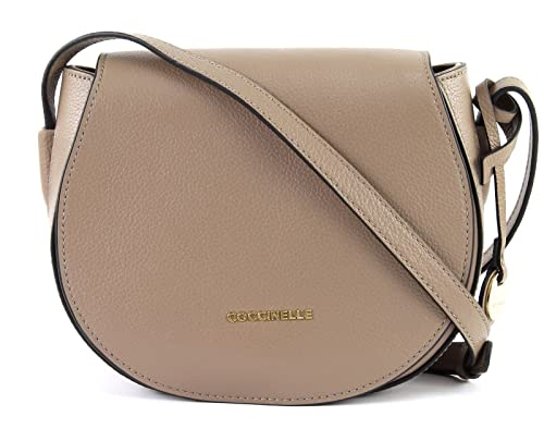 a2d4f74c7342 COCCINELLE Clementine Soft Small Shoulder Bag Taupe  Amazon.co.uk  Shoes    Bags
