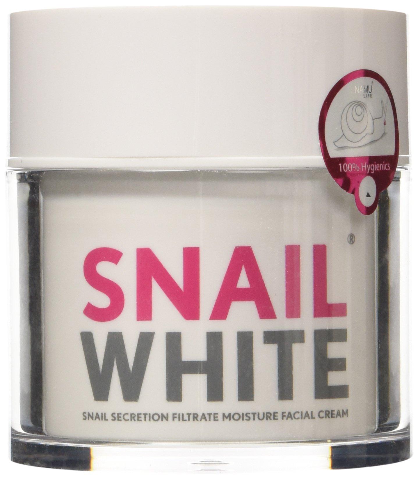 Korea Face Cream Snail White NAMU FACE Cream Skin Regenerate Recovery Renew MOISTURIZER Repairing Net Wt.1.8 Oz or 50 g.