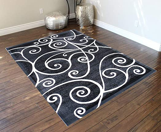 Gallery Modern Area Rug Design 23 Grey 8 Feet X 10 Feet