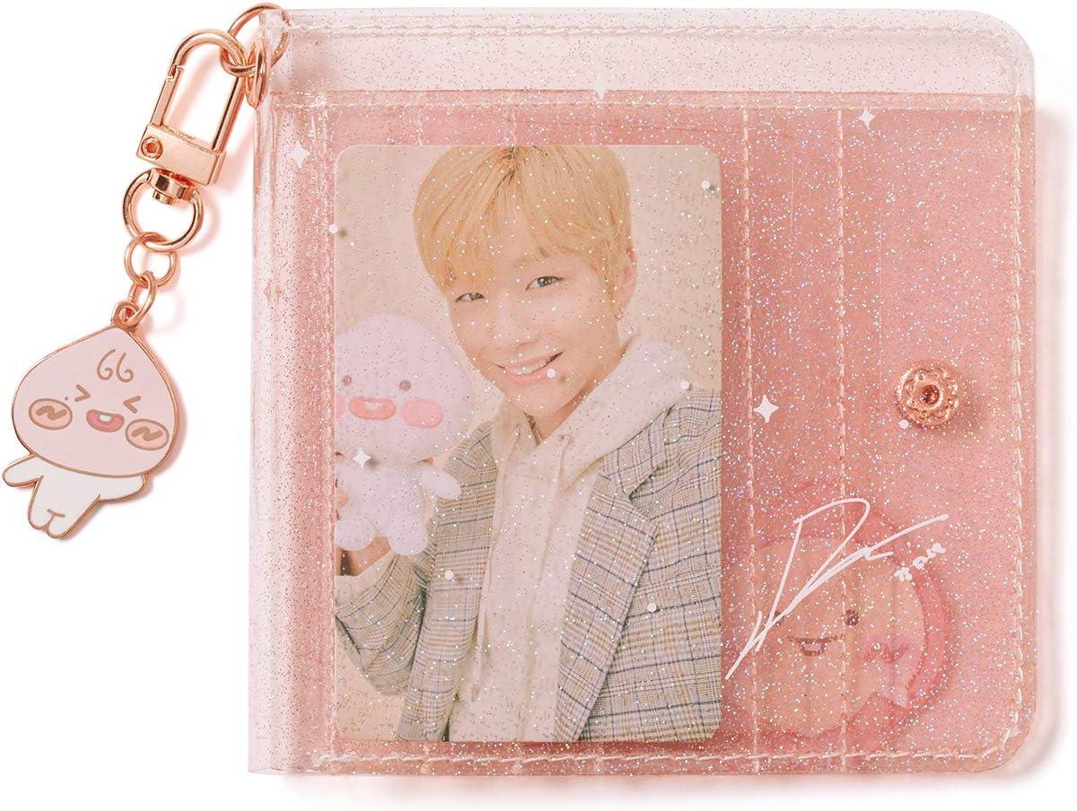 KAKAO FRIENDS Official- Apeach KangDaniel Edition Glitter Card Case Wallet