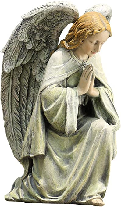 Napco Kneeling Angel Garden Statue 11 3 4 Inch Tall Outdoor Statues Garden Outdoor