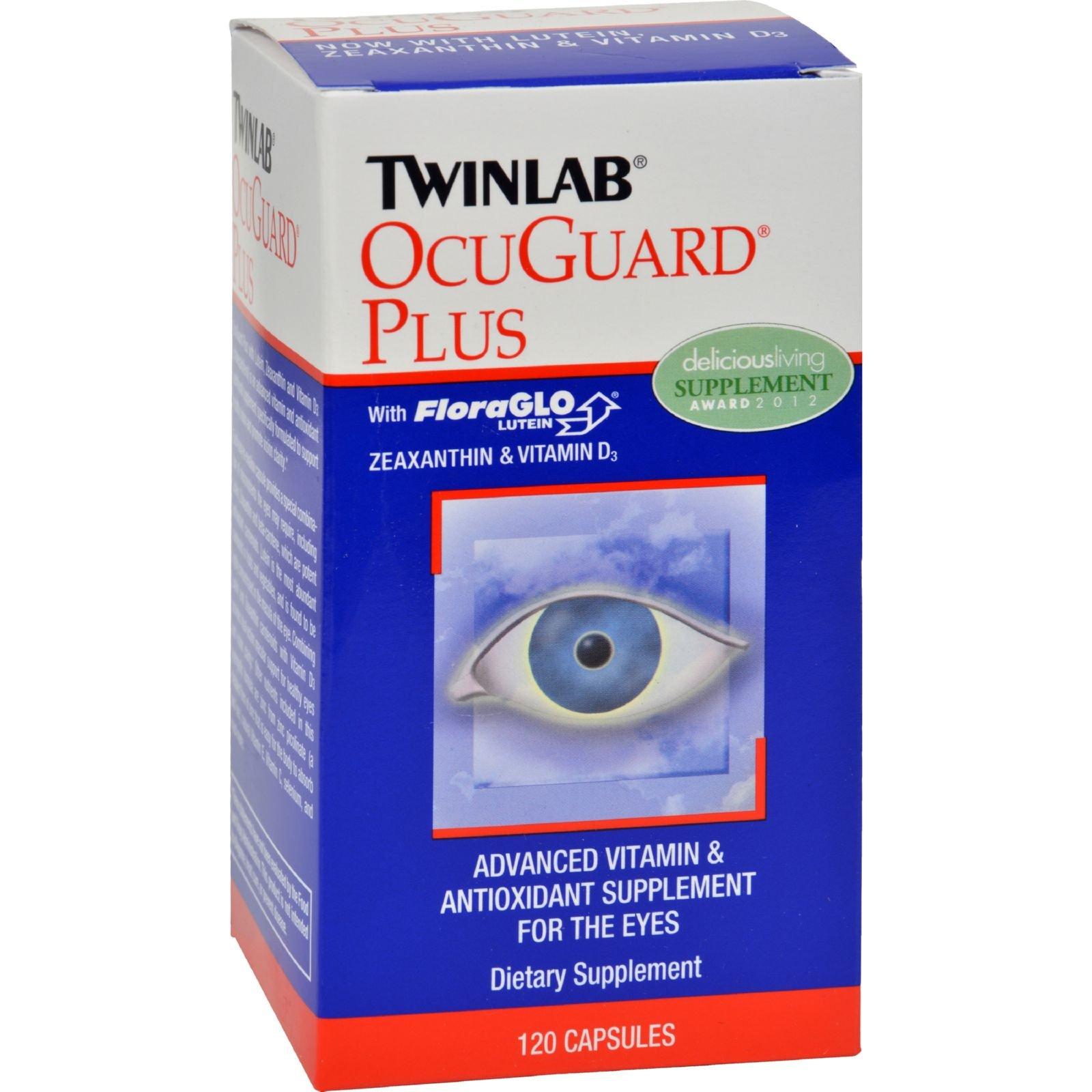 Twinlab OcuGuard Plus - 120 Capsules (Pack of 4)