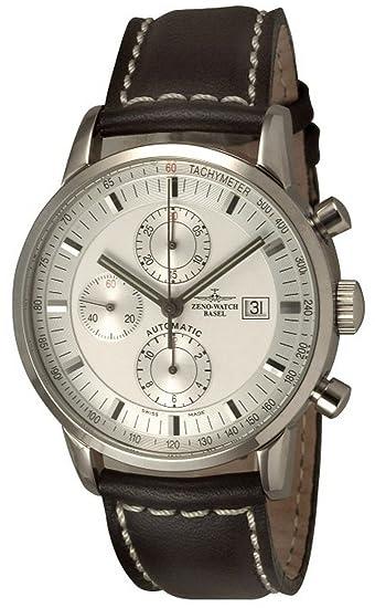 Zeno-Watch Reloj Mujer - Magellano Retro Chrono Tachymeter - 6069TVDI-e2: Amazon.es: Relojes