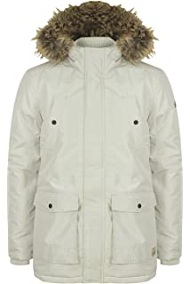 5b45a6b551b0 Tokyo Laundry Ripstop Parka Quilted Padded Faux Fur Winter Coat 1J8227/A  Ridgecrest. White