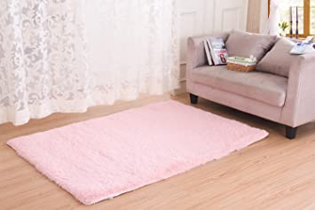 Super Soft Modern Area Rugs, CWKTITI Living Room Carpet Bedroom Rug Solid  Home Decorator Floor