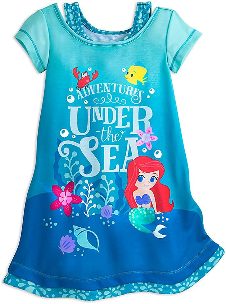 Disney Ariel Nightshirt Blue for Challenge the lowest price of Max 54% OFF Japan ☆ Girls