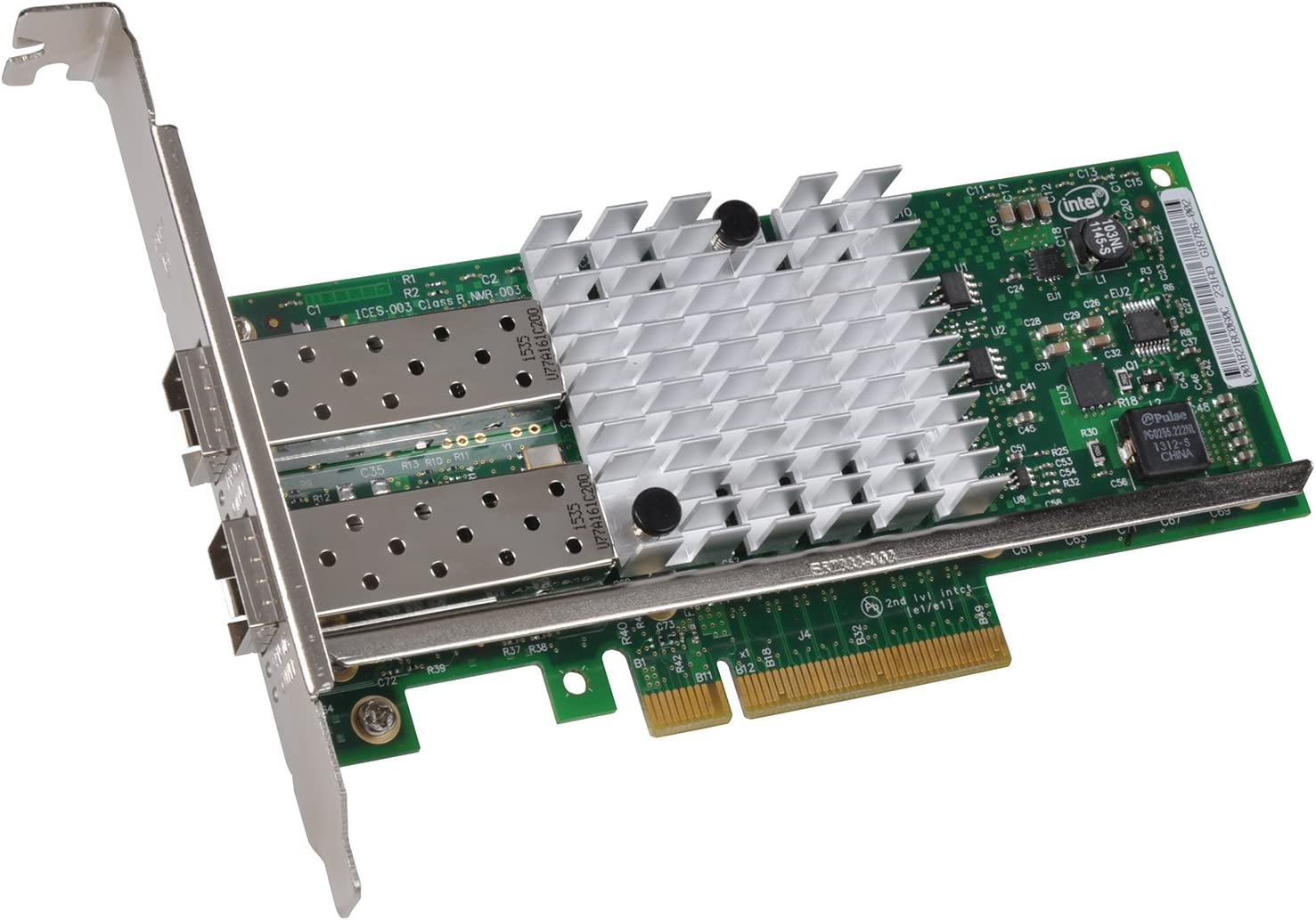 Sonnet Presto 10GbE SFP+ Network Adapter PCI Express 2.0 x8 Low Profile 10 Gb Ethernet (G10E-SFP-2XA-E2)