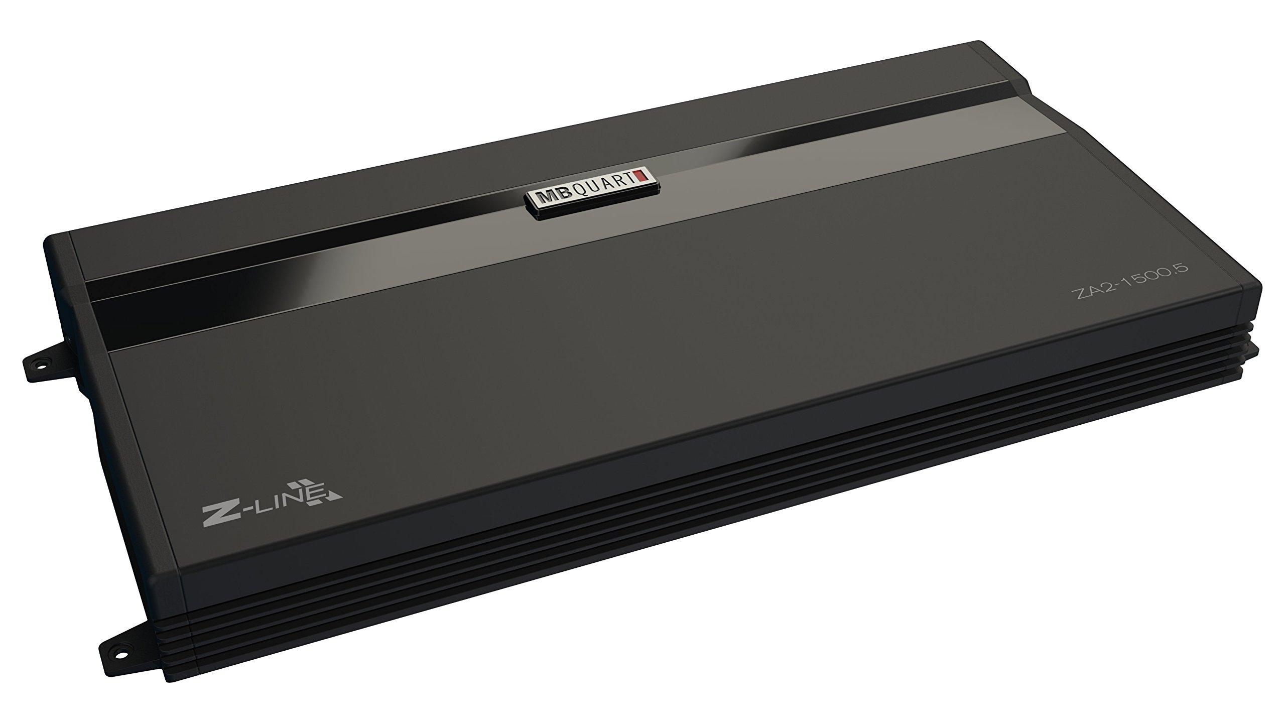 MB Quart ZA2-1500.5 1500 watt, Four Channel car Audio Amplifier