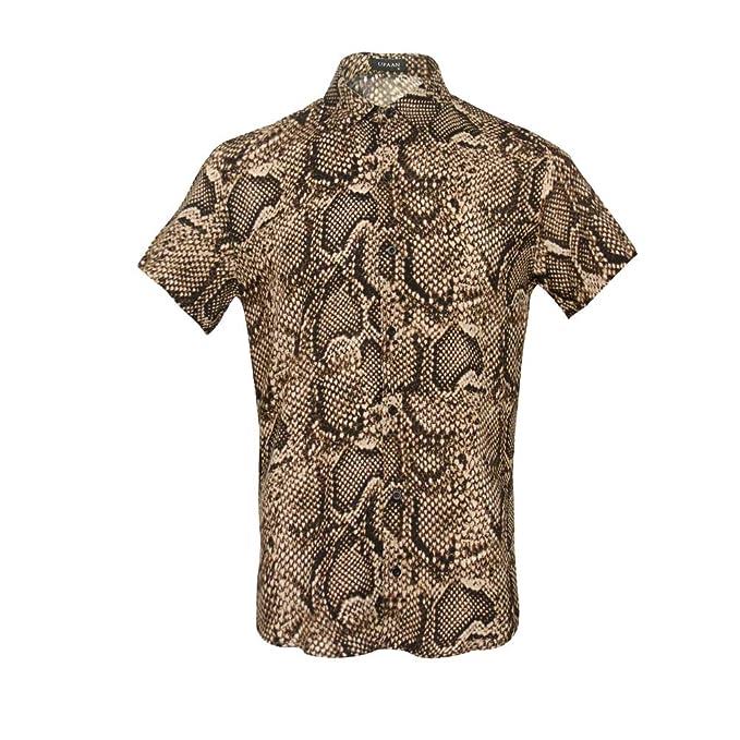 Amazon.com: UPAAN Camisas de manga corta para hombre, con ...