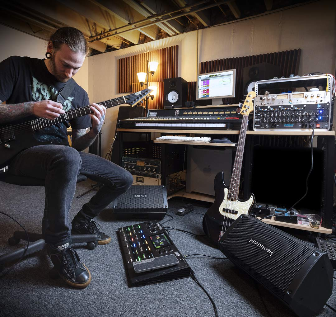 HeadRush FRFR-108 - Monitor Activo de Guitarra con Amplificador de ...