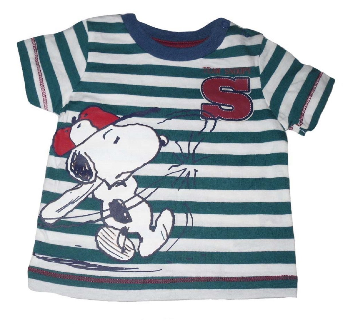 Baby Boys T-Shirt Top Official Snoopy (3-6 months)