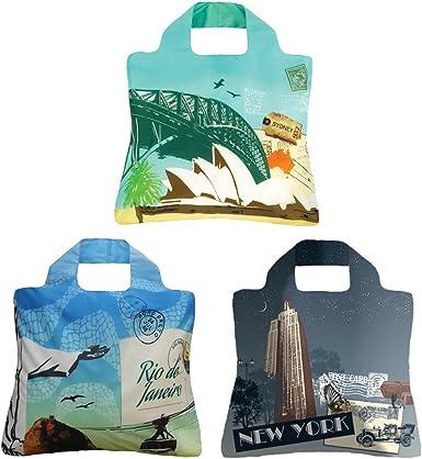 Envirosax Wanderlust Individual Bag Various Sizes and Colors