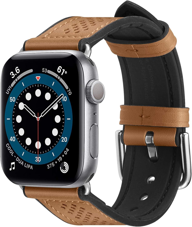 Spigen Retro Fit Designed for Apple Watch Band for 40mm/38mm Series 6/SE/5/4/3/2/1 - Brown