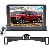 LeeKooLuu Backup Camera and Monitor Kit HD 720P Easy Installation for Cars,Trucks,Pickups Waterproof Night Vision Rear…