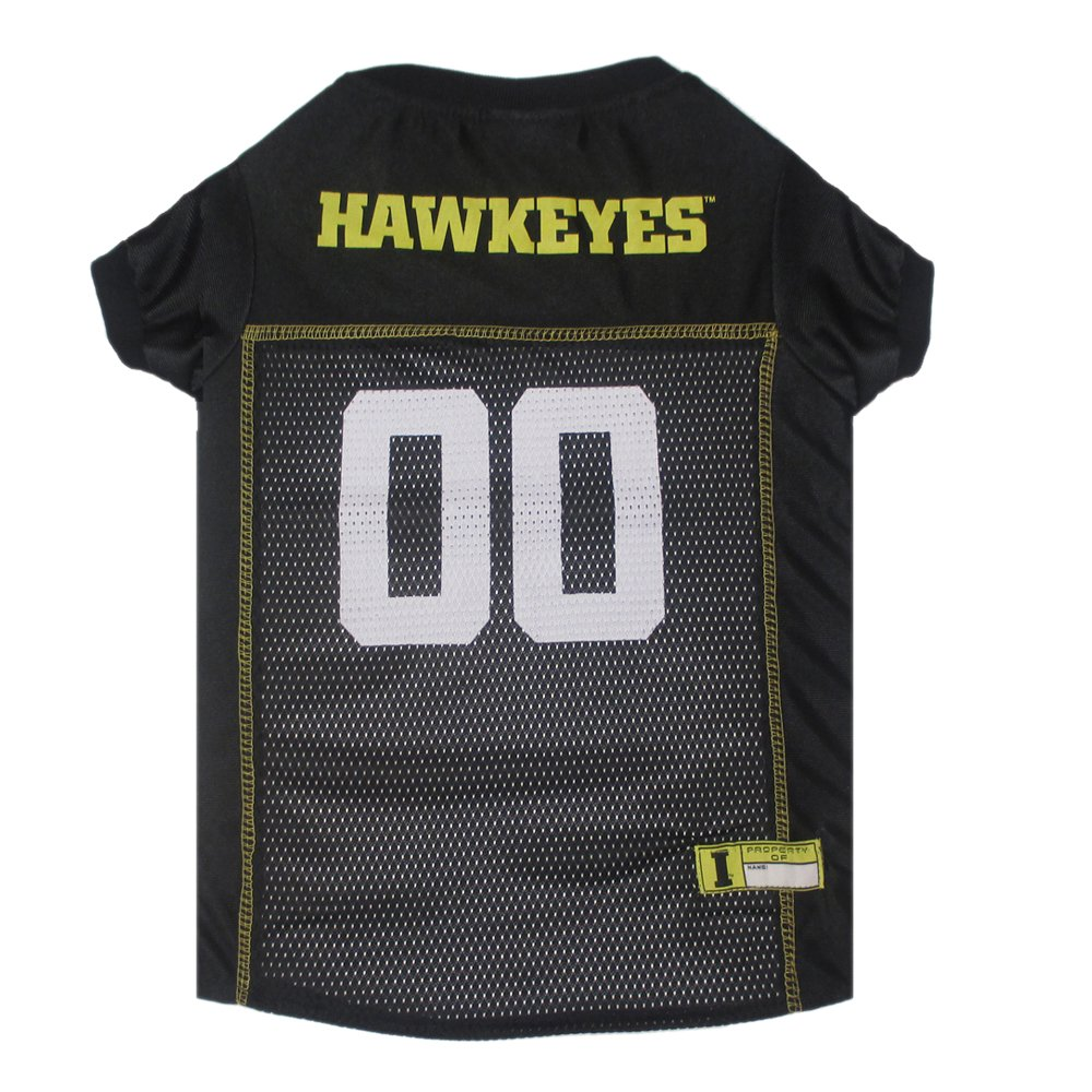 amazon com mirage pet products iowa hawkeye jersey for dogs and