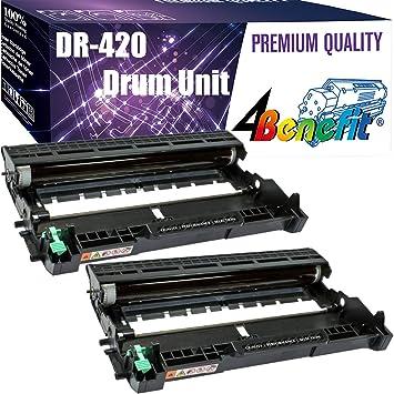 2Pack DR420 DR-420 Drum Unit Compatible For Brother HL-2270DW MFC-7460 HL-2240