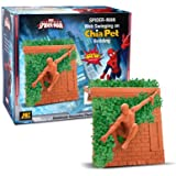 Chia Pet Spiderman, MARVEL, Decorative Pottery Planter, Easy To Do and Fun To Grow, Novelty Gift, Perfect For Any Occasion (Contains Packets For 3 Plantings)