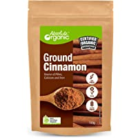 Absolute Organic Ground Cinnamon Powder, 150 g