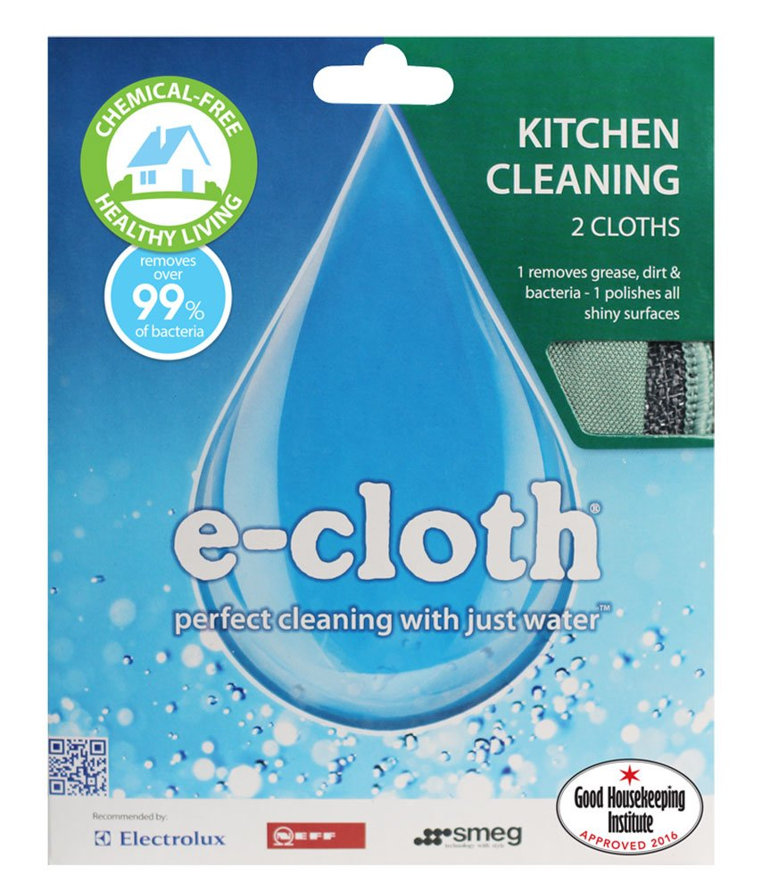 E-Cloth Kitchen Cleaning - 2 cloths: Amazon.co.uk: Kitchen & Home