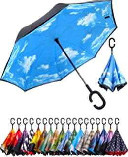 Double Layer Inverted Inverted Umbrella Is Light And Sturdy Christmas Background Vector Eps10 Illustration Reverse Umbrella And Windproof Umbrella Ed