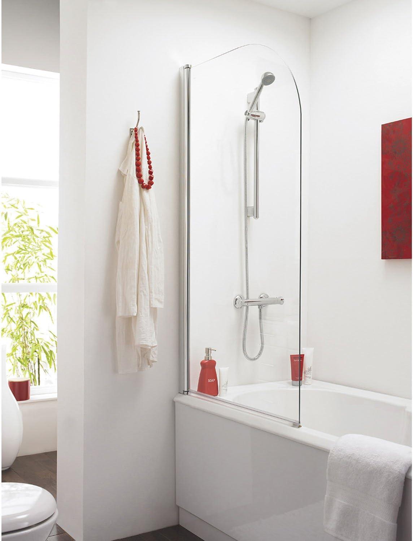 Mampara para baño, premier, recta NSS1 – cromo: Amazon.es ...