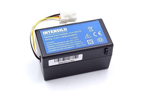 INTENSILO Batería Li-Ion 3400mAh (14.4V) para robot aspidador Samsung Navibot SR8940
